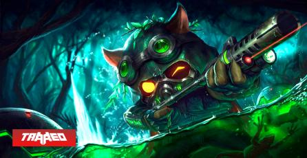 Teemo es el campeón más pickeado en League of Legends Mobile y con un 50% de win rate