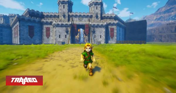 Esta versión de Ocarina of Time en Unreal Engine 4 es la mejor que hemos visto hasta ahora