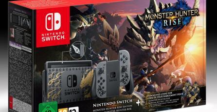 El Switch de <em>Monster Hunter Rise</em> también llegará a Europa