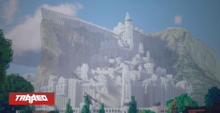 NVIDIA recrea Minas Tirith de El Señor de los Anillos con el poder de Ray Tracing en Minecraft