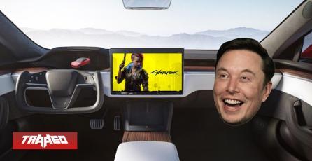 Elon Musk dice que podrás jugar Cyberpunk 2077 en sus autos Tesla y acciones de CDPR suben en un 19%