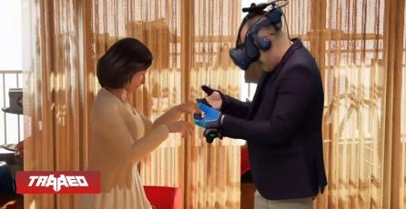 Hombre llora al reencontrarse con su fallecida esposa a través de VR