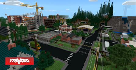 Nueva actualización de Minecraft: Education Edition se enfoca en sustentabilidad