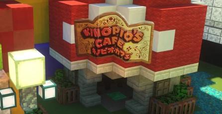 <em>Minecraft</em> hará realidad tu sueño de visitar Super Nintendo World