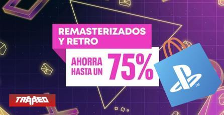 """PlayStation Store Chile tiene descuentos hasta un 75% en """"Remasterizados y Retro"""""""