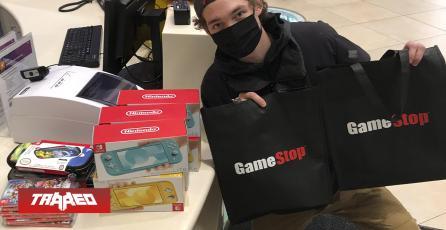 VERDADERA INVERSIÓN: Ganó algo de dinero con lo de GameStop y compró consolas para hospitales de niños
