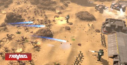 ¿ALÓ STARCRAFT? RTS Starship Troopers: Terran Command muestra nuevo tráiler fiel a la película