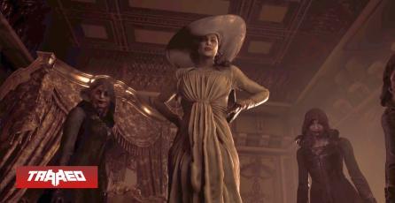 La altura de Lady Dimitrescu en Resident Evil Village es de casi 3 metros