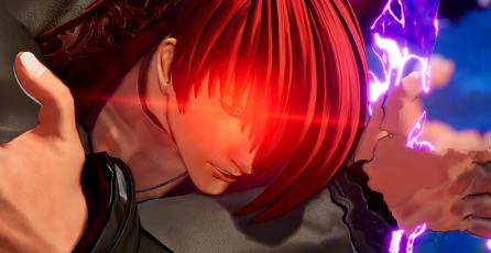 Iori Yagami acaba con Shun'ei en avance de <em>The King of Fighters XV</em>