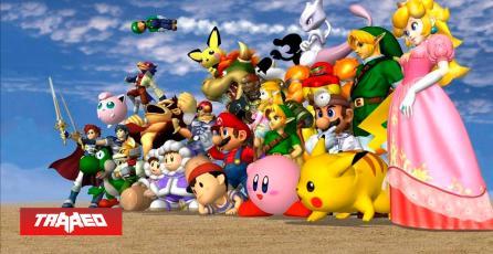 Al fin alguien terminó el minijuego de los créditos de Super Smash Bros. Melee