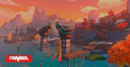Fanáticos de Genshin Impact pasan 1000 horas construyendo un modelo en la vida real del Puerto de Liyue