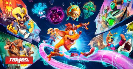 Crash Bandicoot 4 estará disponible en todas las plataformas el próximo 12 de marzo