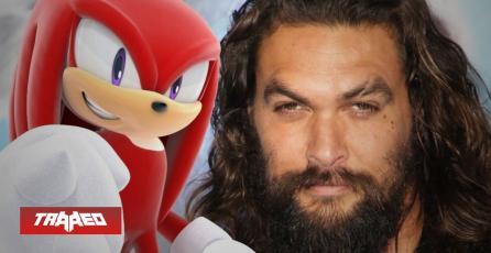 Jason Momoa puede ser Knuckles en Sonic the Hedgehog 2 y película confirma estreno para abril 2022