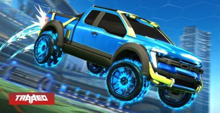 Camioneta Ford F-150 llegará a Rocket League