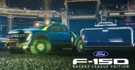 "Rocket League - Tráiler DLC ""Ford F-150 Rocket League Edition"""