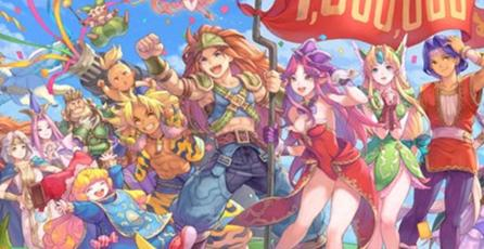 <em>Trials of Mana </em>ya vendió 1 millón de copias y así lo celebran