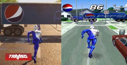 Pepsiman luce tremendo con Ray Tracing en este remake