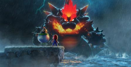 <em>Super Mario 3D World + Bowser's Fury</em>