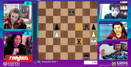 El Rubius alcanzó los 118 mil espectadores en torneo de ajedrez por Twitch