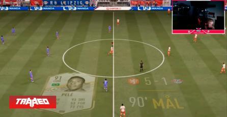 Después de 535 victorias seguidas el prodigio de 15 años en FIFA 21 Anders Vejrgang, sufre una derrota