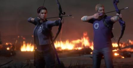 "Marvel's Avengers - Tráiler de Historia ""Operation: Hawkeye: Future Imperfect"""