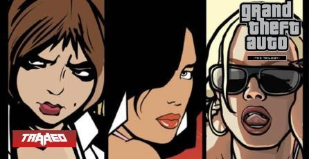 Salen más pistas sobre remasters de GTA 3, Vice City y San Andreas
