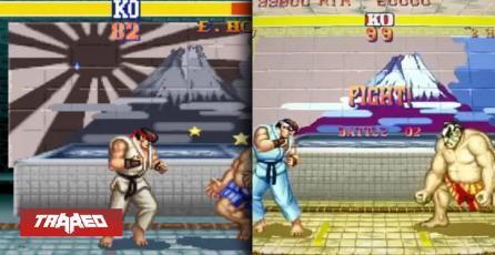 Capcom Arcade Stadium elimina la Bandera del Sol Naciente de Street Fighter 2