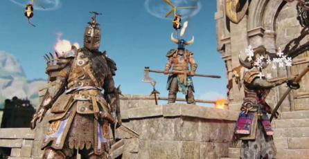 For Honor & Shovel Knight - Tráiler Anuncio de Crossover