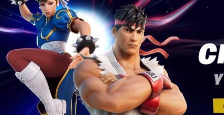 ¡Es oficial! Ryu y Chun-Li serán skins para <em>Fortnite: Battle Royale</em>