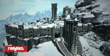 Fan de Skyrim recrea High Hrothgar en Valheim