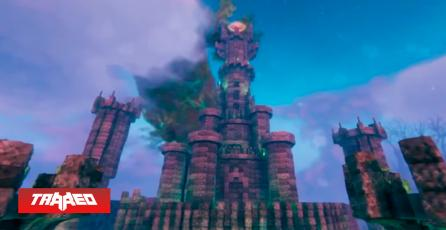 Recrean la Torre del ojo de Sauron del Señor de los Anillos en Valheim