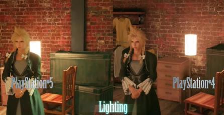 Final Fantasy VII Remake - Tráiler Comparativa de Gráficas