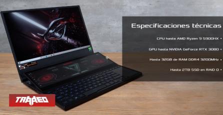 ROG presenta ZephyrusDuo 15 SE: el nuevo laptop gamer con doble pantalla