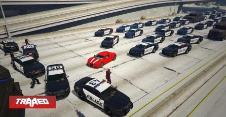 Misterio resuelto: Ya sabemos de donde salen los policías en las persecuciones de GTA V