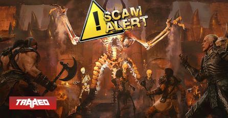 CUIDADO: Hay estafadores ofreciendo Alphas falsas de Diablo 2: Resurrected