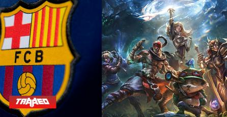 FC Barcelona tendrá su propio team de League of Legends, pero en circuito competitivo de China