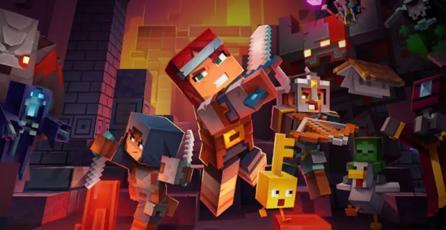 <em>Minecraft Dungeons</em> tendrá un increíble arcade para 4 jugadores
