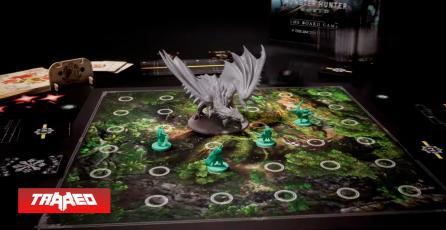 Juego de Mesa de Monster Hunter promete hasta 75 horas en modo campaña
