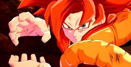 Dragon Ball FighterZ - Tráiler Lanzamiento Gogeta (SS4)