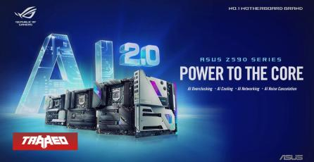 ASUS detalla las tecnologías de sus nuevas Placas Z590 que permitirán un increíble rendimiento con los nuevos procesadores de Intel