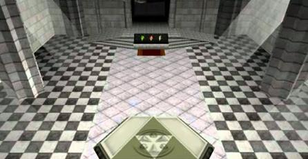 Fan construye réplica del Templo del Tiempo de <em>The Legend of Zelda</em> con LEGO