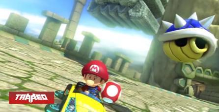 BLUE YOURSELF: Nuevo desafío de Mario Kart consiste en darte a ti mismo con un caparazón azul lo antes posible