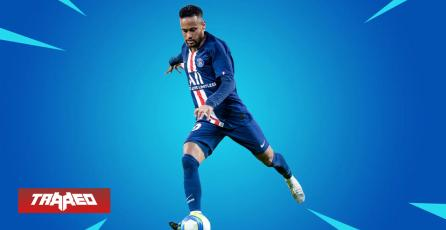 Primero CR7 en Free Fire, ahora Neymar en Fortnite