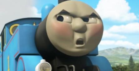 Fans llevan a Thomas el tren a <em>Valheim</em> y es realmente aterrador
