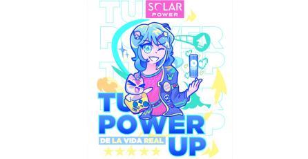 SOLAR POWER te invita a llevar tu originalidad y pasión por los videojuegos a LEVEL UP