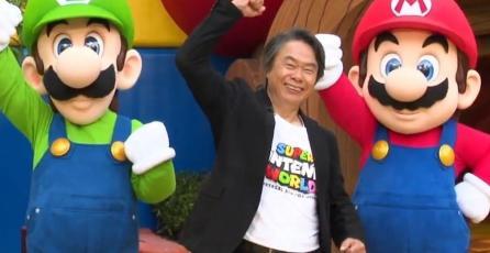 ¡Histórico! Shigeru Miyamoto inaugura Super Nintendo World