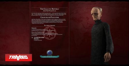 Nuevo mod de Civilization 6 te deja jugar como el imperio de Star Wars