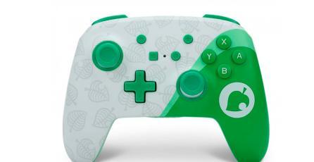 Anuncian nuevo control de <em>Animal Crossing</em> para Nintendo Switch