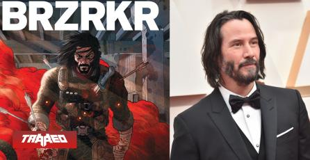 """Keanu Reeves será el protagonista en película y animé adaptación de su propio comic """"BRZRKR"""""""