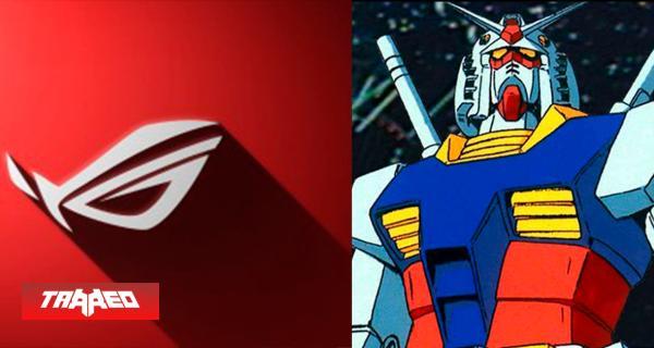 Asus y colaboración con Mobile Suit Gundam ad portas de salir en Japón